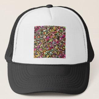 Boné Formas coloridas do abstrato 3D
