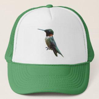 Boné Fotografia Rubi-Throated do pássaro do colibri