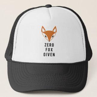 Boné Fox zero dado