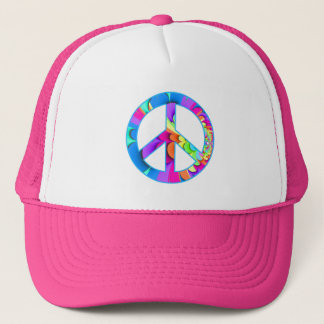 Boné Fractal do sinal de paz