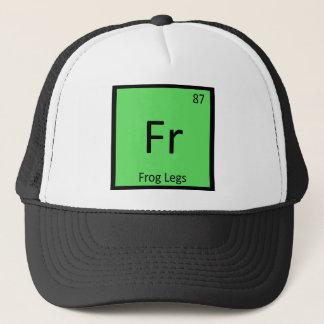 Boné Franco - Símbolo da mesa periódica da química das