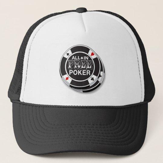 Boné Free Poker