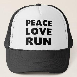 Boné Funcionamento do amor da paz