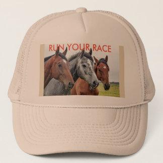 Boné Funcione seu chapéu da raça