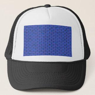Boné Fundo azul largo da parede