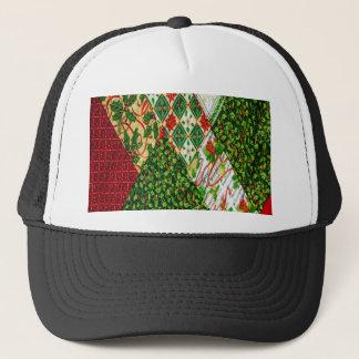 Boné Fundo da edredão do Natal