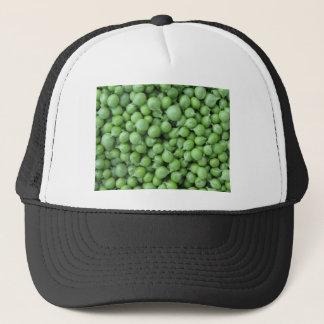 Boné Fundo da ervilha verde. Textura de ervilhas verdes