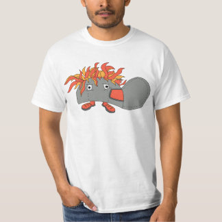 Boné Funky dos desenhos animados Camiseta