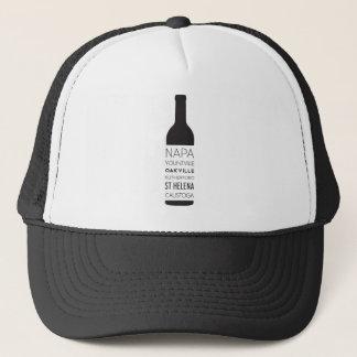 Boné Garrafa de vinho das cidades de Napa Valley
