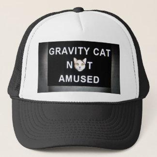 Boné gato da gravidade não divertido