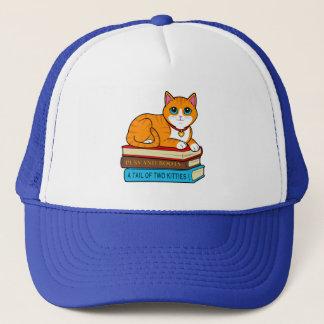 Boné Gato do gengibre em livros