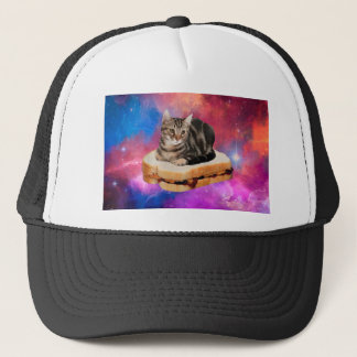 Boné gato do pão - gato do espaço - gatos no espaço