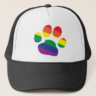 Boné Gay-Orgulho-Pata-Impressão
