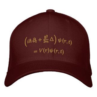 Boné Geek: Boné, equação de Schrodinger, sisal