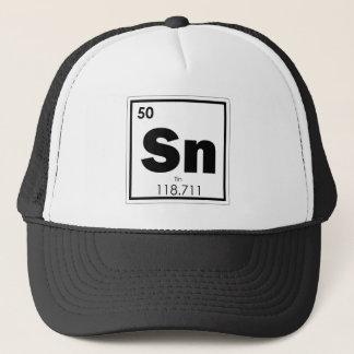 Boné Geek da fórmula da química do símbolo do elemento