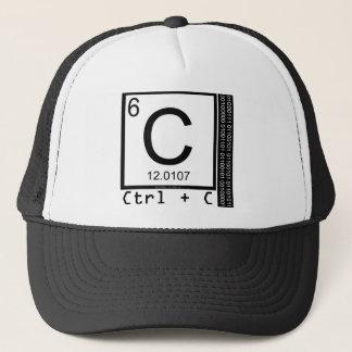 Boné Geek mim! Cópia de carbono