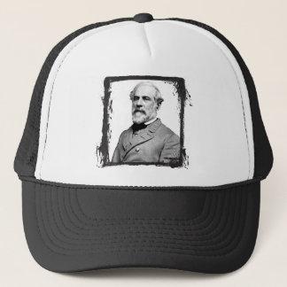 Boné General Robert E. Lee EUA do quadro do Grunge