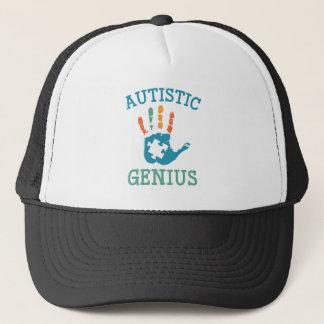 Boné Gênio autístico