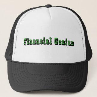 Boné Gênio financeiro