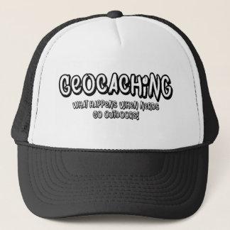 Boné Geocaching, o que acontece quando os nerd forem