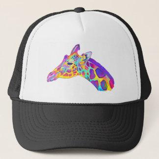 Boné Girafa colorido