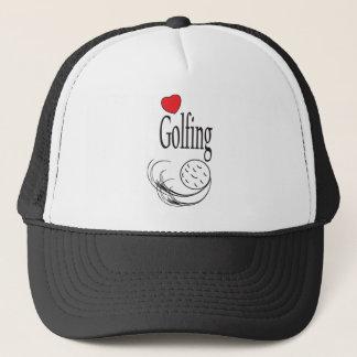 Boné Golfing do amor