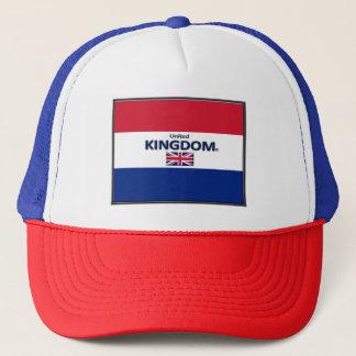 Boné Grâ Bretanha colore chapéus do camionista da