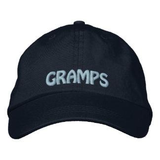 Boné Gramps bordou o chapéu do vovô