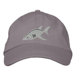 Boné Grande branco do tubarão