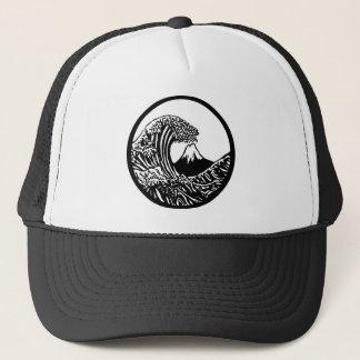 Boné Grande chapéu de Hokusai da onda