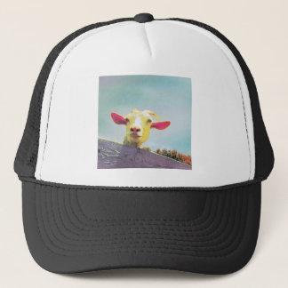 Boné Grande de tudo cabra orelhuda cor-de-rosa do tempo