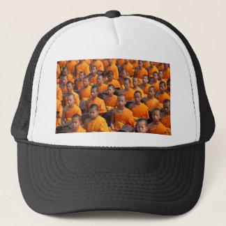 Boné Grande grupo de monges Meditating