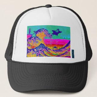 Boné Grande onda do CYCAD fora do chapéu de Kanagawa