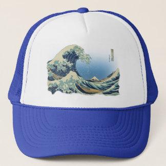 Boné Grande onda fora de Kanagawa