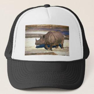 Boné Grande rinoceronte Um-Horned indiano