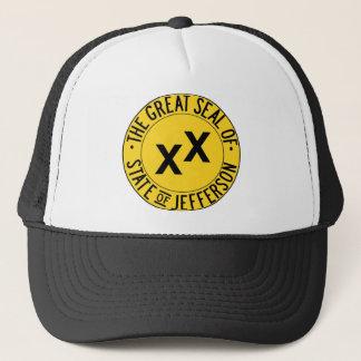 Boné Grande selo do chapéu do camionista de Jefferson