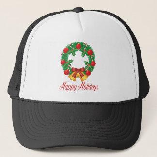 Boné Grinalda do Natal com ornamento Bels e doces