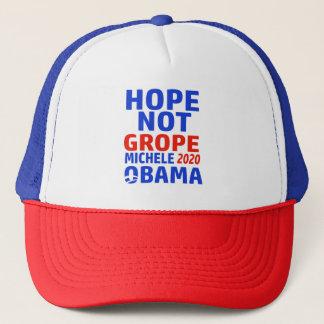 Boné grope Michele da esperança não obama 2020