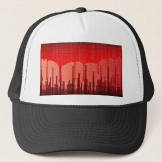 Boné Grunge da cidade do sangue