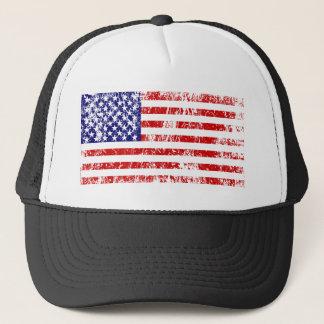 Boné Grunge dos EUA da bandeira americana