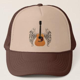 Boné Guitarra acústica voada