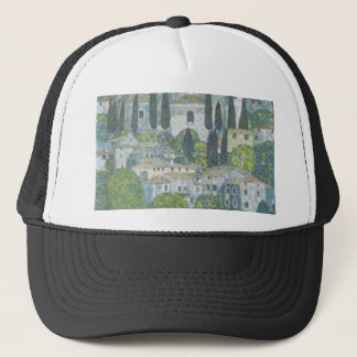 Boné Gustavo Klimt - igreja no trabalho de arte de