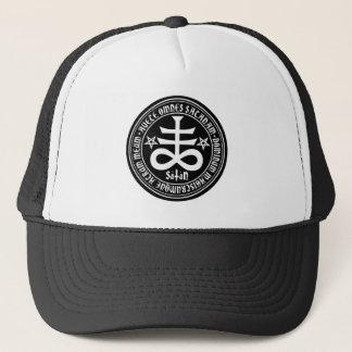 Boné Hail Satanás - 666 cross Cap anticristo Truckercap