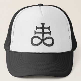 Boné Hail Satanás Cap - Pentagram cross - 666 -