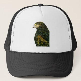 Boné Harris Hawk o chapéu