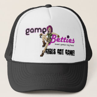 Boné hat_Black de GameBetties