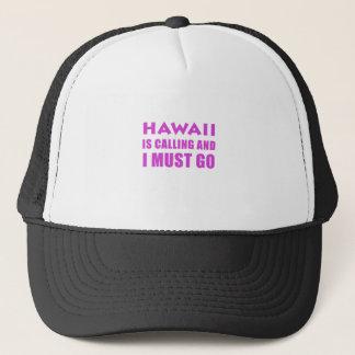 Boné Havaí está chamando e eu devo ir