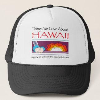 Boné Havaí por Harrop-T-c