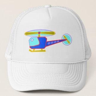 Boné Helicóptero Whirly-Encaracolado azul