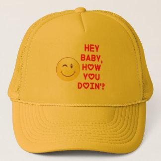 Boné Hey bebê…